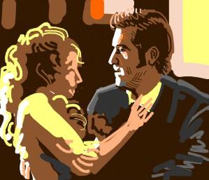 Mel Gibson & Jodie Foster in Maverick fall in love