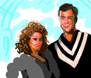 Jim and Tammy Faye Baker